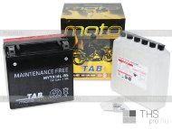 Аккумулятор TAB MAINTENANCE FREE BATTERY 12Ah EN180 о.п (150x87x145) (MYTX14L-BS) AGM
