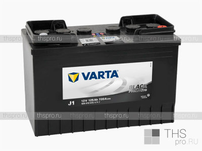 Аккумулятор Varta Promotive Black 125Ah EN720 о.п.(349х175х290) (J1)