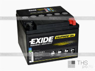 Аккумулятор MARINE & LEASURE range EXIDE Equipment GEL 25Ah о.п.(165х175х125) (ES290)