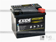 Аккумулятор EXIDE MARINE & LEASURE range  Equipment GEL 40Ah о.п.(210х175х175) (ES450)