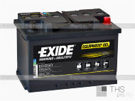 Аккумулятор MARINE & LEASURE range EXIDE Equipment GEL 56Ah о.п.(278х175х190) (ES650)