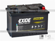 Аккумулятор EXIDE MARINE & LEASURE range Equipment GEL 80Ah о.п.(350х175х190) (ES900)