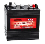 Аккумулятор MONBAT MONOLITH POWER MP6VUS  210Ah EN430 о.п. (261х181х276) (P78P6US3_1)