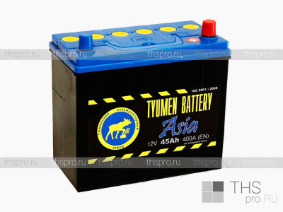 Аккумулятор TYUMEN Battery ASIA  45Ah EN400 о.п. (236х128х223) J+