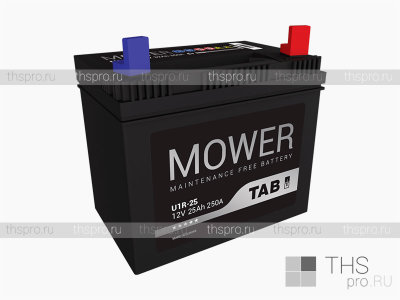 Аккумулятор TAB Mower battery  25Ah EN250 о.п.(196х127х185)
