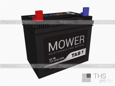 Аккумулятор TAB Mower battery  25Ah EN250 п.п.(196х127х185)