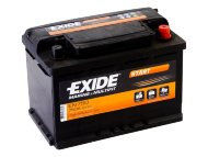 Аккумулятор EXIDE MARINE & LEASURE range Start 74Ah EN680 о.п.(278x175x190) (EN750)