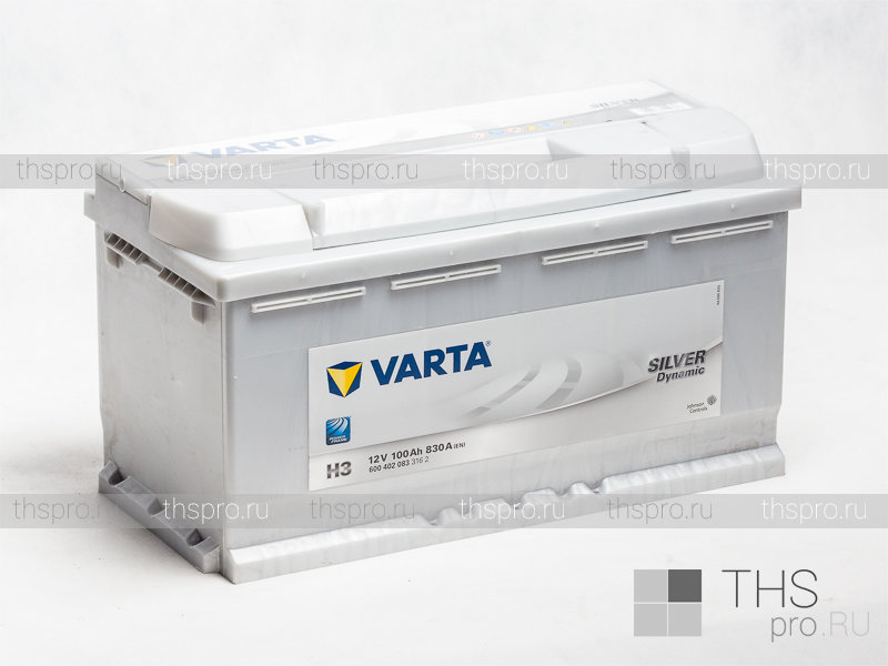 varta h3 silver dynamic 100ah