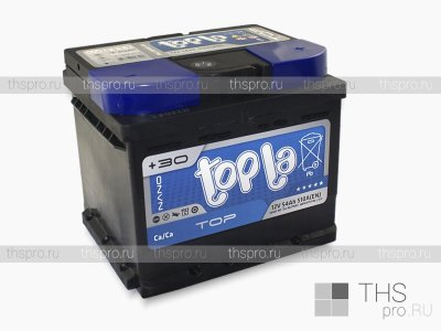Аккумулятор TOPLA Top Sealed  54Ah EN510 о.п.(207×175×175) (55401 SMF)