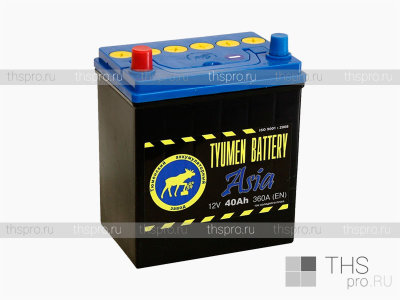 Аккумулятор TYUMEN Battery ASIA  40Ah EN360 п.п. (187х128х223) J+
