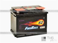 Аккумулятор FIRE BALL  62Ah EN480 о.п.(242х175х190)